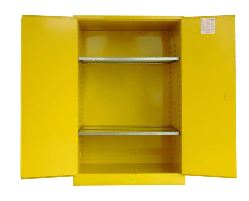 Flammable Safety Cabinet - Yellow Lab Safety Cabinet