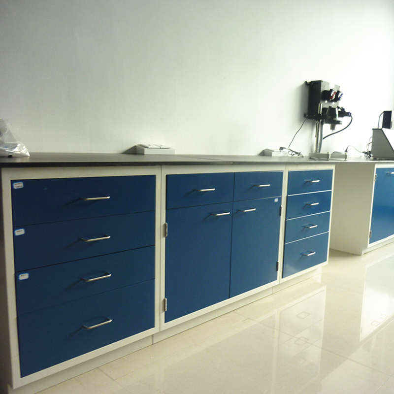 Steel Laboratory Workbench, Lab Side Bench, Modern Laboratory Table