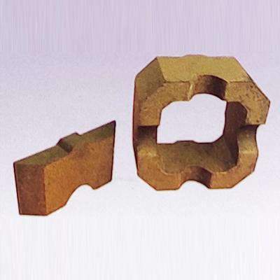 玻璃窑蓄热室用筒形格子体耐火砖