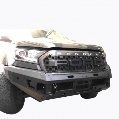 Ranger 15-18 ;Revo black bumper guard