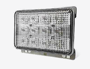 60W LED Flood Beam Work Light For Agricultural Machine