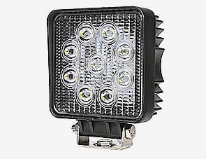 Flood Beam 27W LED Working Light For Auto Parts