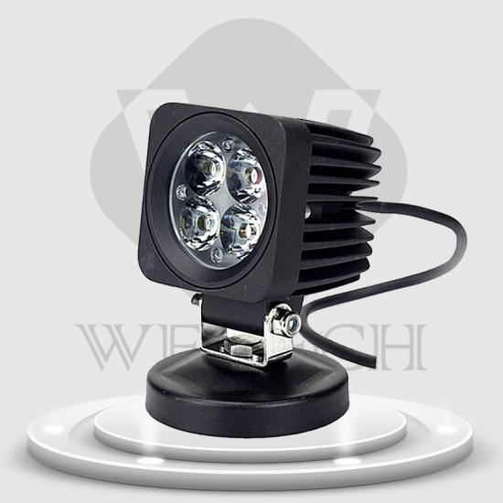 Hot sale 12w  auto led driving light round work lamp