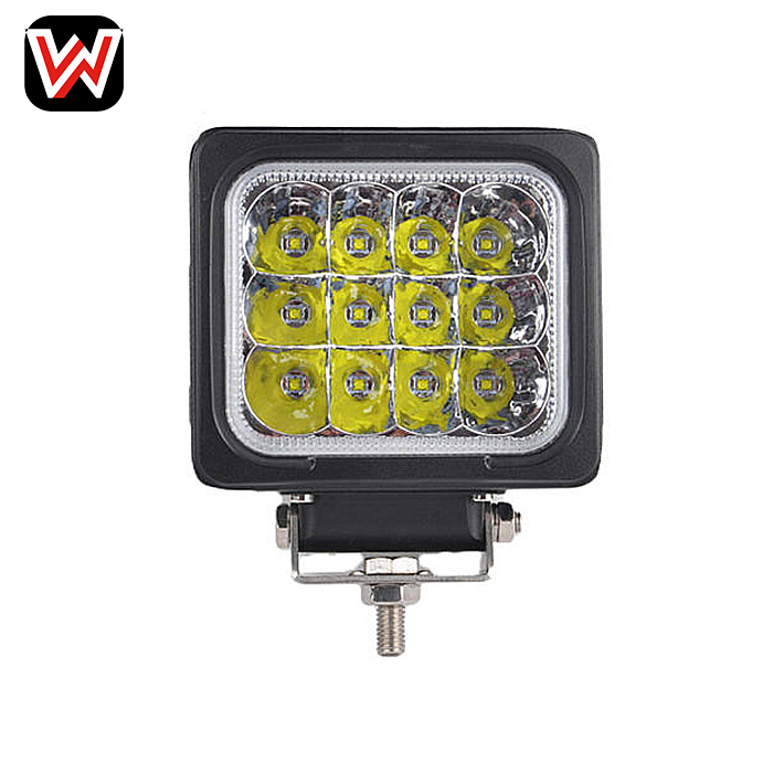 48W LED Work Light Offroad heavy duty for ATV Car 4x4 Truck Tractor Bike spot Lighting